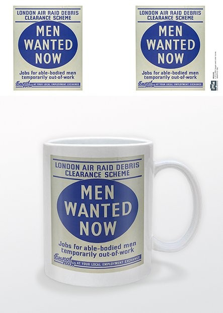 Taza IWM - Men Wanted Now