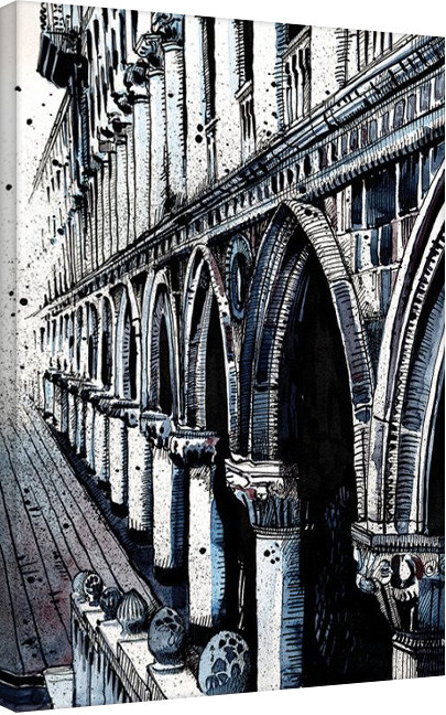 Pinturas sobre lienzo Jack the Flipper - Venice II