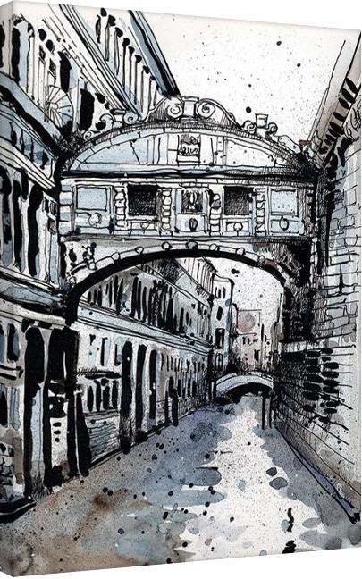 Pinturas sobre lienzo Jack the Flipper - Venice IV