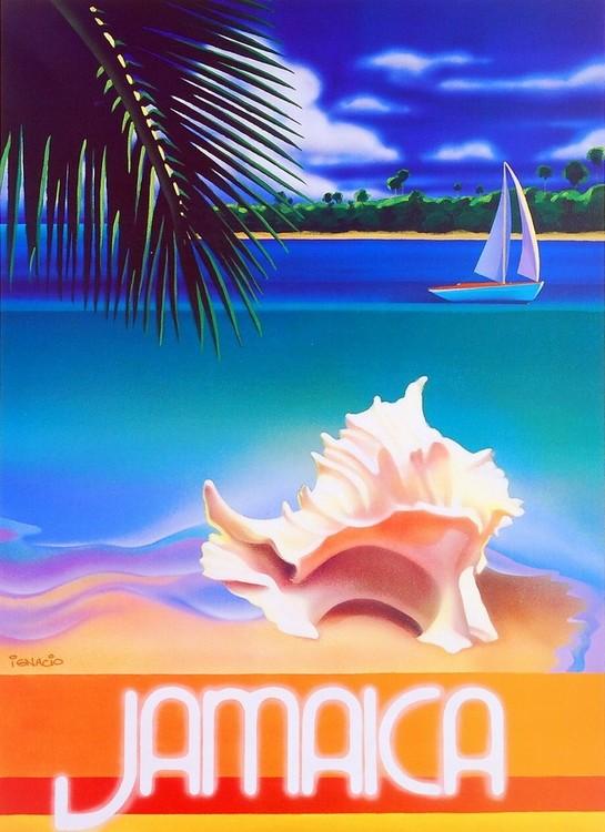 Jamaica Festmény reprodukció