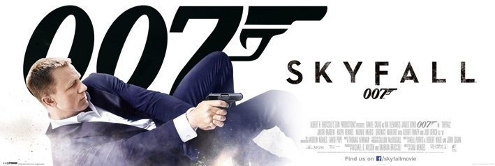 JAMES BOND 007 - bond in dust - плакат (poster)