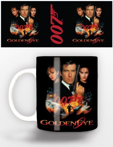 чаша James Bond - goldeneye