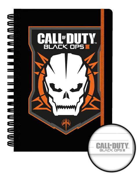 Call of Duty: Black Ops 3 - Logo jegyzetfüzet