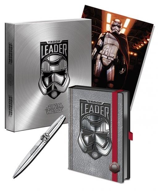 Csillagok háborúja VII (Star Wars: Az ébredő Erő) - Captain Phasma Premium Stationery Box Set   jegyzetfüzet