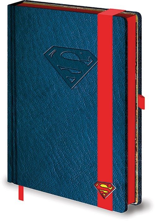 DC Comics A5 notebook - Superman Logo jegyzetfüzet