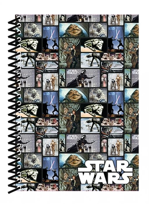 Star Wars - Blocks A5 Soft Cover  Jegyzetfüzet