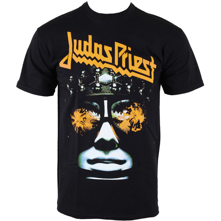 Tričko Judas Priest - HELL-BENT WITH PUFF PRINT FINISHING