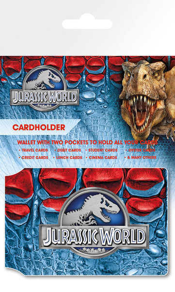 Jurassic World - Logo kártyatartó