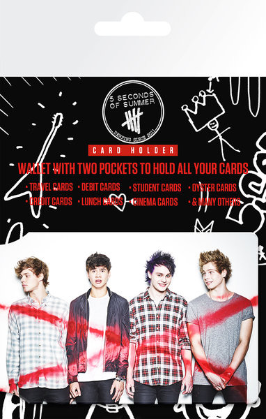 5 Seconds of Summer - Album kaarthouder