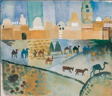 Kairouan I, 1914 Festmény reprodukció