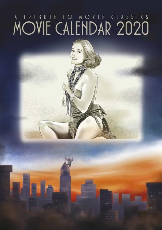 Kalendář 2021 Filmový Kalendář 2020 - A Tribute To Movie Classics