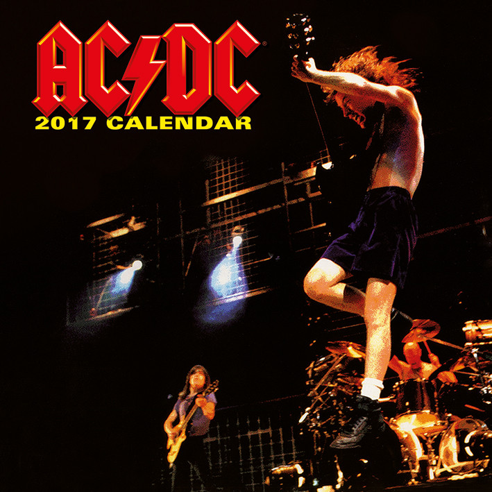 Kalendář 2018  AC/DC