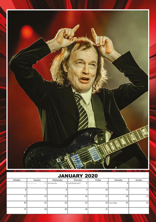 Kalendář 2020  AC/DC