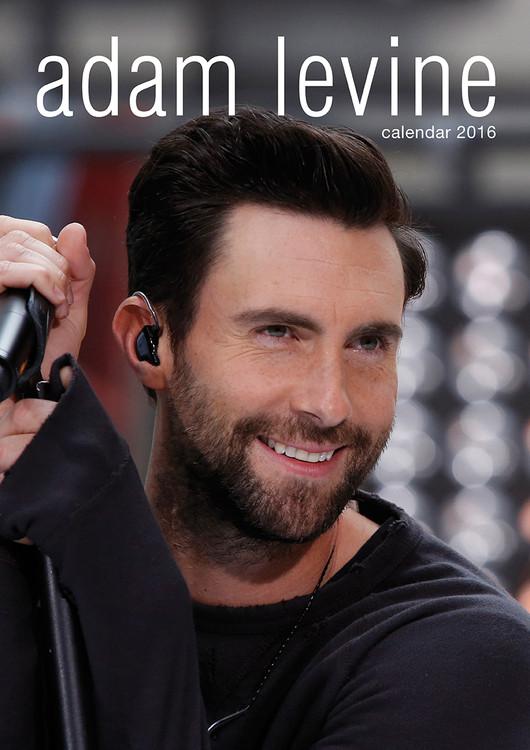 Kalendár 2017 Adam Levine (Maroon 5)