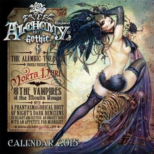 Kalendár 2017 Alchemy