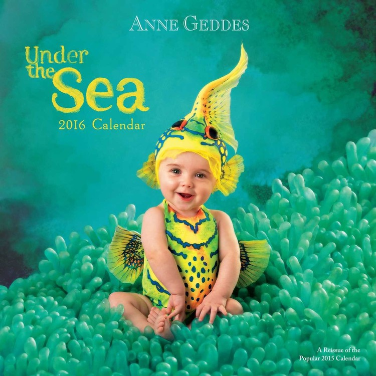 Kalendár 2018 Anne Geddes - Under the Sea