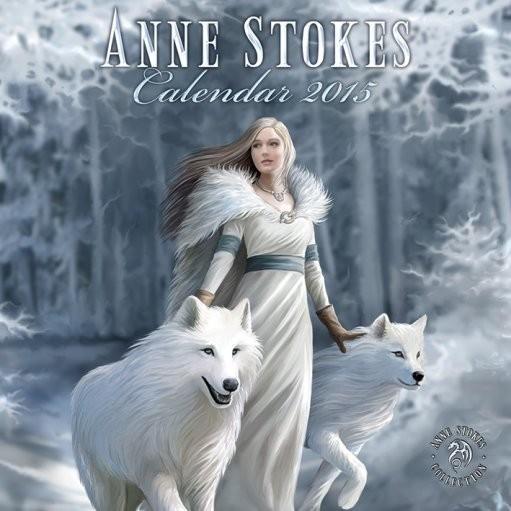 Kalendár 2017 Anne Stokes