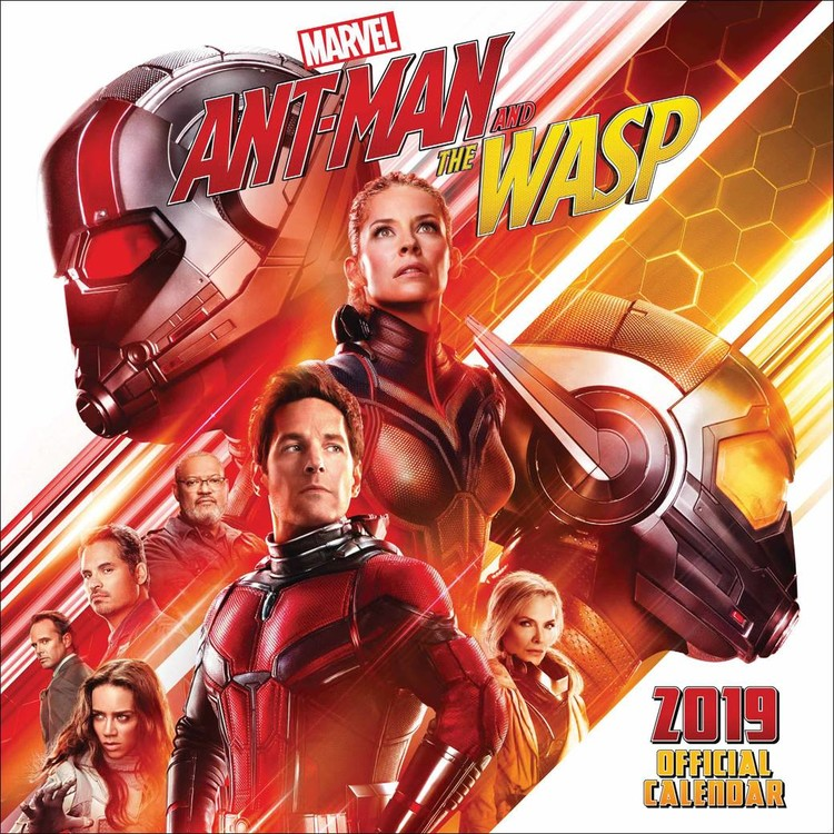 Kalendář 2019  Ant-man And The Wasp