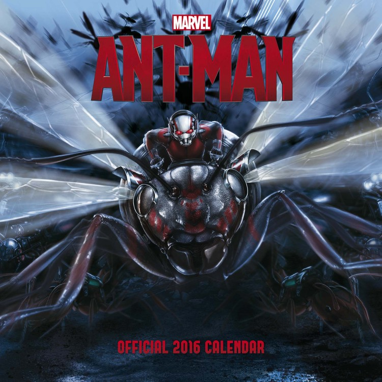 Kalendář 2017 Ant-man