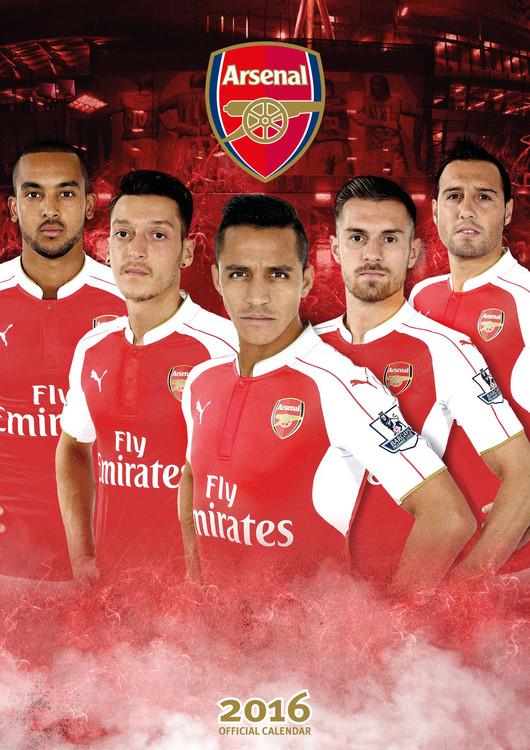 Kalendár 2018 Arsenal FC