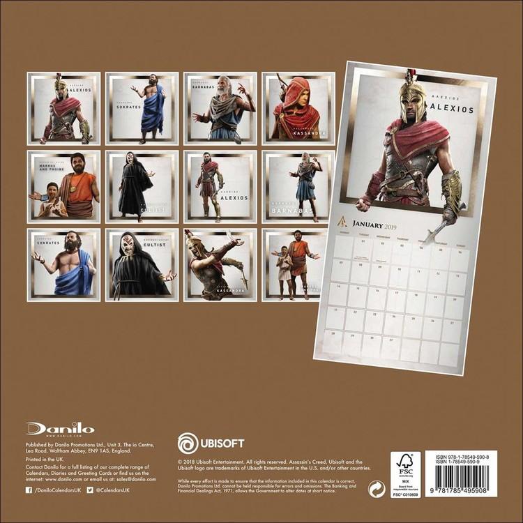 Calendario Ubisoft.Kalendar 2020 Assassin S Creed Game