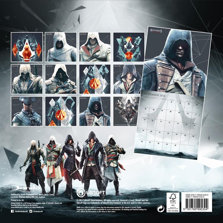 Calendario Ubisoft.Kalendar 2020 Assassins Creed Game