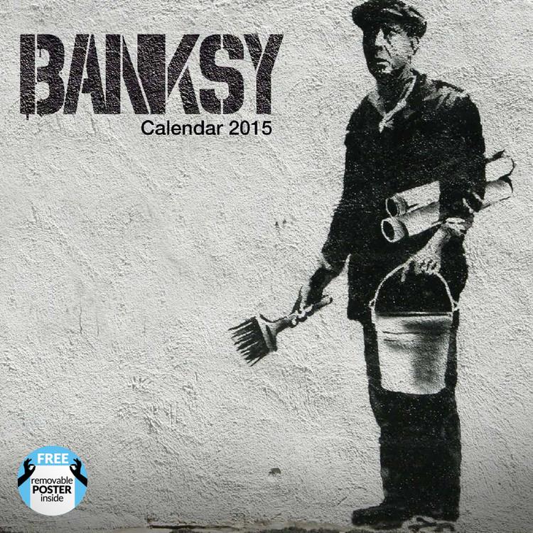 Kalendář 2017 Banksy