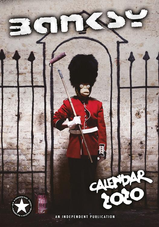 Kalendár 2020  Banksy