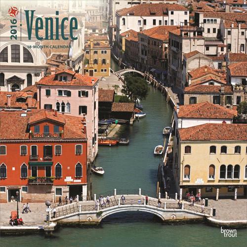 Kalendář 2017 Benátky