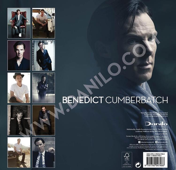 Kalendář 2018  Benedict Cumberbatch - Sherlock