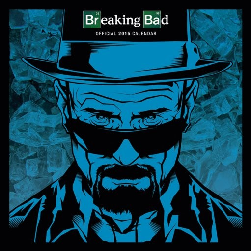 Kalendár 2017 Breaking Bad (Perníkový tatko)