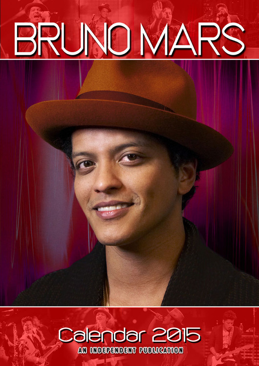 Kalendář 2017 Bruno Mars
