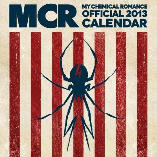 Kalendár 2017 Calendar 2013 - MY CHEMICAL ROMANCE