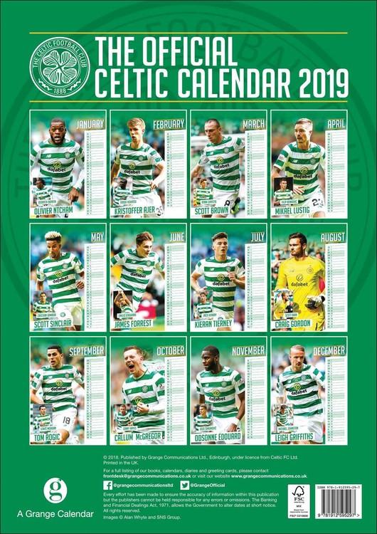 Kalendář 2020  Celtic