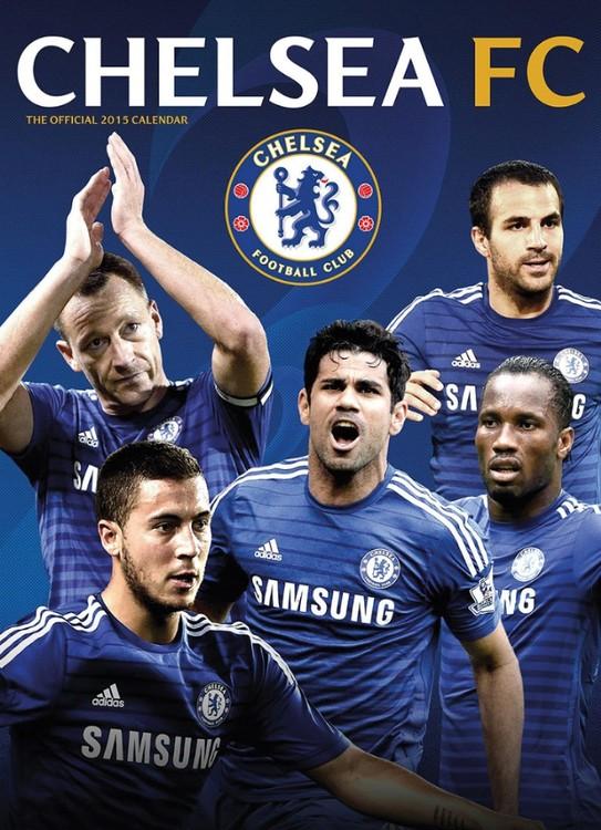 Kalendár 2017 Chelsea FC
