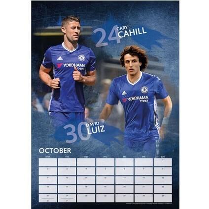 Kalendár 2018  Chelsea
