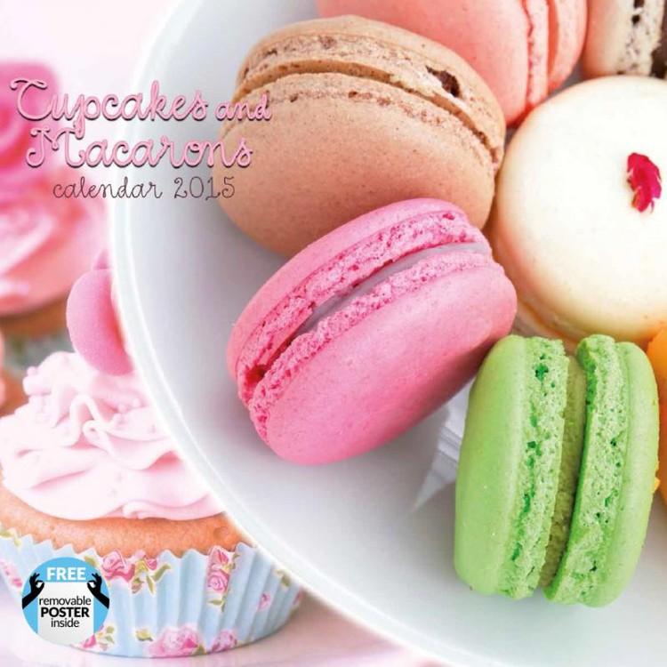 Kalendář 2017 Cupcakes & Macarons