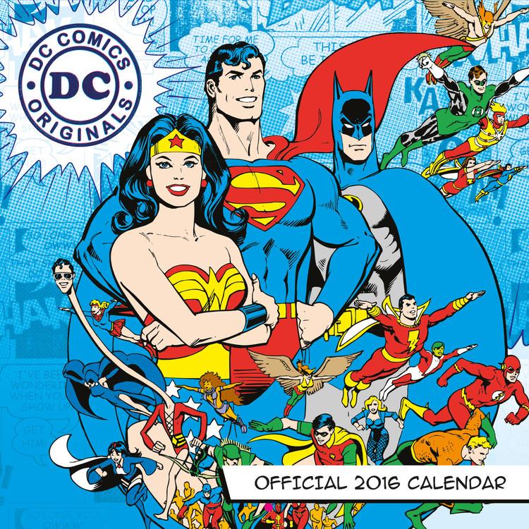 Kalendár 2017 DC Comics