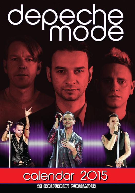 Kalendár 2017 Depeche Mode