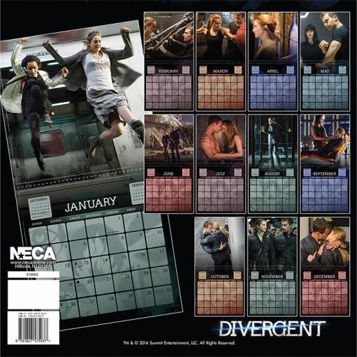 Kalendář 2018  Divergence
