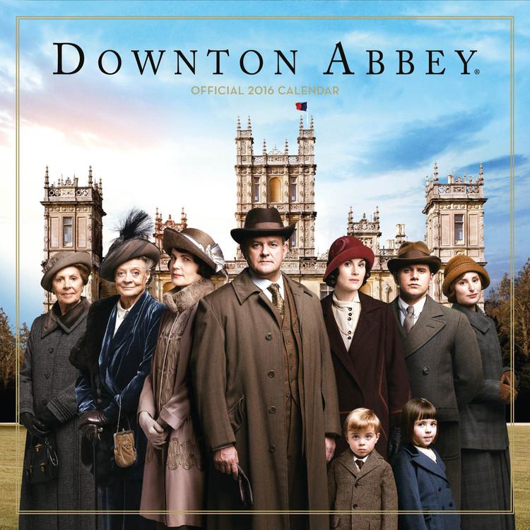 Kalendář 2017 Downton Abbey