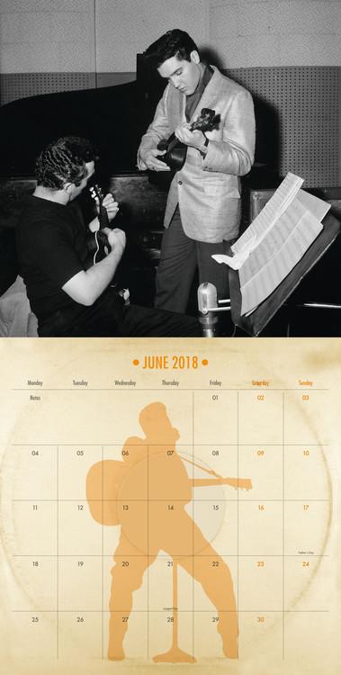 Kalendář 2019  Elvis - Collectors Edition
