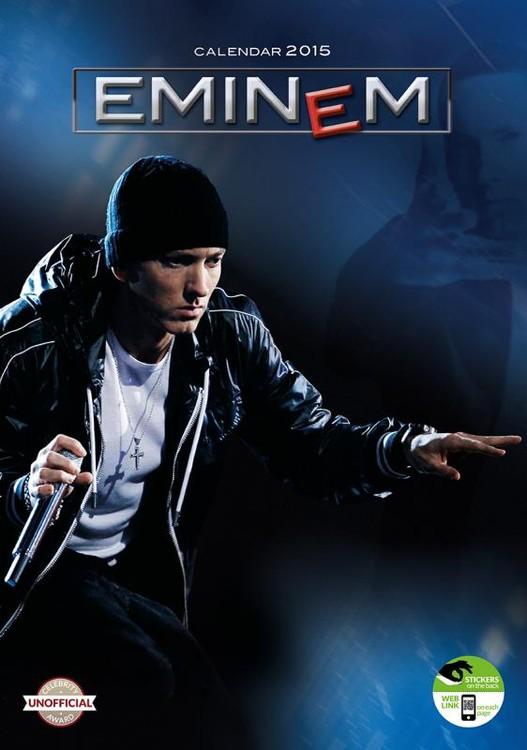 Kalendár 2018 Eminem
