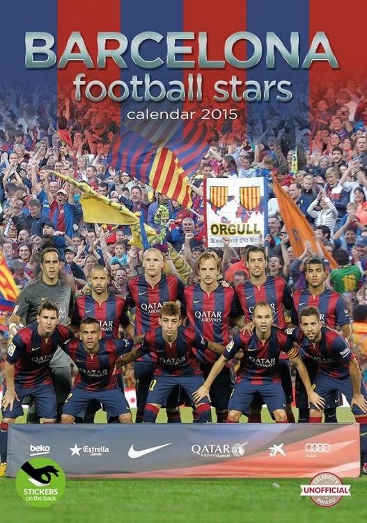Kalendář 2017 FC Barcelona