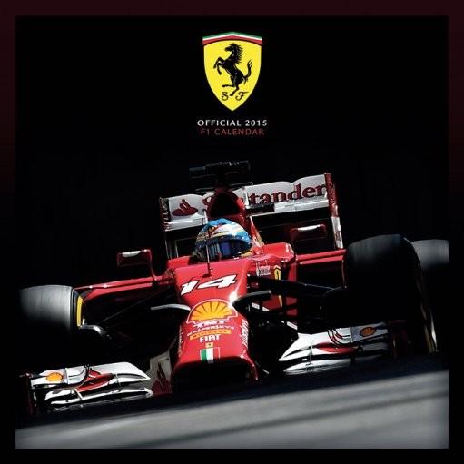 Kalendář 2017 FERRARI F1