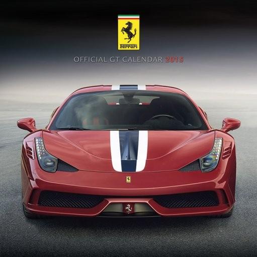 Kalendář 2017 Ferrari GT