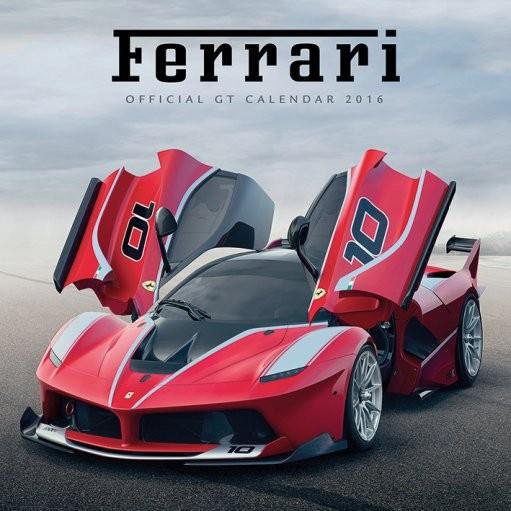 Kalendár 2017 Ferrari GT