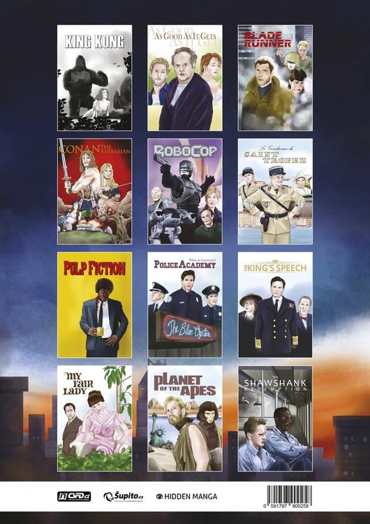 Kalendář 2020 Filmový Kalendář 2020 - A Tribute To Movie Classics