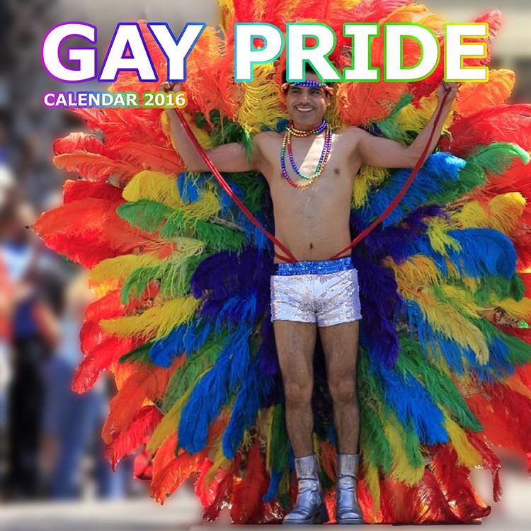 Kalendář 2017 Gay Pride