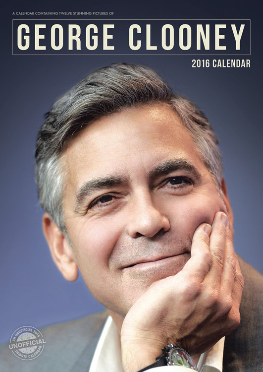 Kalendář 2017 George Clooney